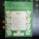 Francis & Day's Album of Famous Old Songs - sheet music book