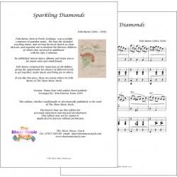 Sparkling diamonds - Felix Burns - Piano duet