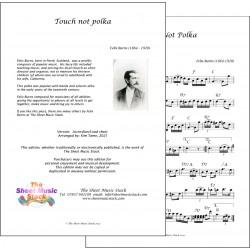 Touch Not Polka - Felix Burns - accordion/lead sheet