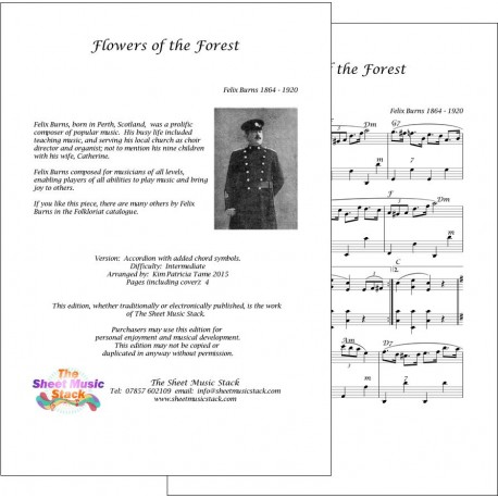 Flowers of the Forest - Felix Burns - Accordion