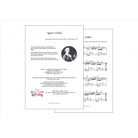 Agnes Polka - Duvernoy - Accordion