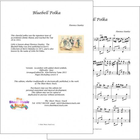 Bluebell Polka - Stanley - Accordion