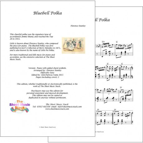 Bluebell Polka - Stanley - Piano