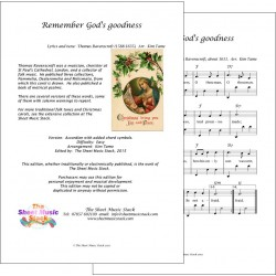 Remember God's goodness - Accordion