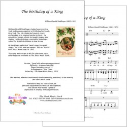 Birthday of a King in Ab - Piano