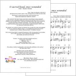 O sacred head once wounded - Accordion