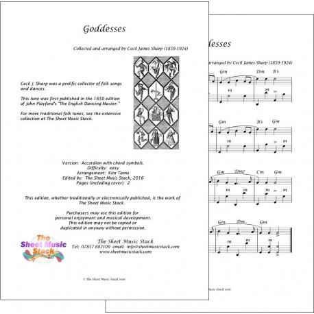 Goddesses - Accordion