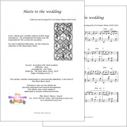 Haste to the weddng - Accordion