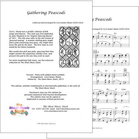 Gathering peascods - Piano