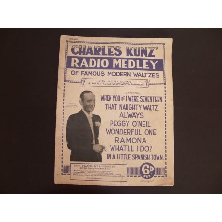 Radio Medley of Famous Modern Waltzes