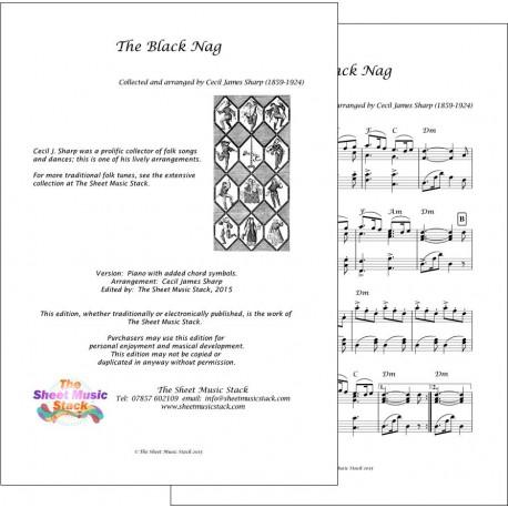 The Black Nag - Piano