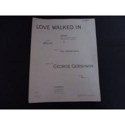 Love walked in, George and Ira Gershwin