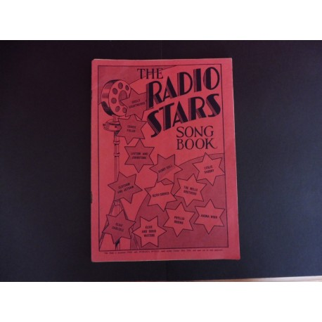 Radio Stars Song Book - from Woman's World 1934