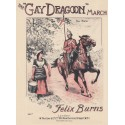 The Gay Dragoon March - Felix Burns - piano