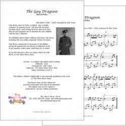 The Gay Dragoon March - Felix Burns - Accordion