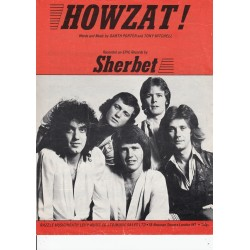 Howzat - sheet music