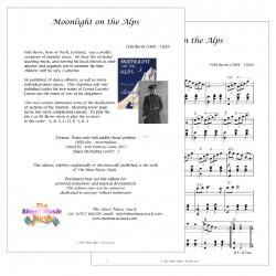 Moonlight on the Alps - Felix Burns (Leona Lacoste) - piano