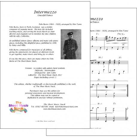 Intermezzo - Felix - Burns - Accordion