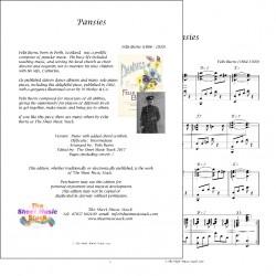 Pansies - Felix Burns - Piano