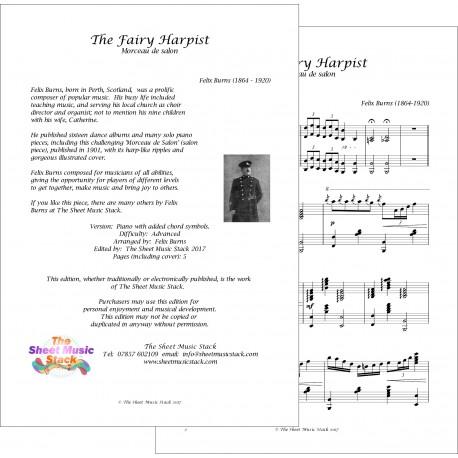 Fairy Harpist - Felix - Burns - Piano