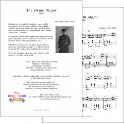 The Drum Major - Felix Burns - Piano