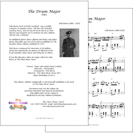 The Drum Major - Felix Burns - Piano