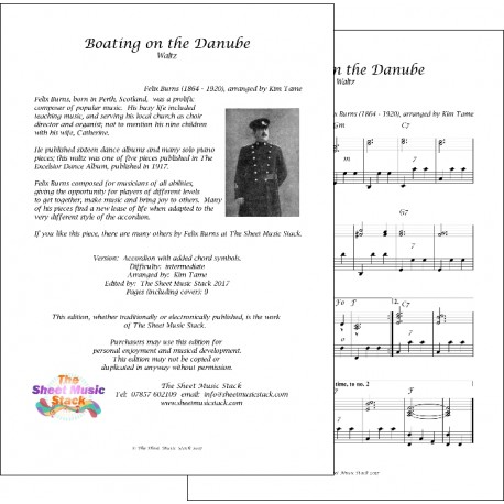 Boating on the Danube - Felix Burns - Accordion