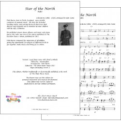 Star of the North - Felix Burns - Lead sheet