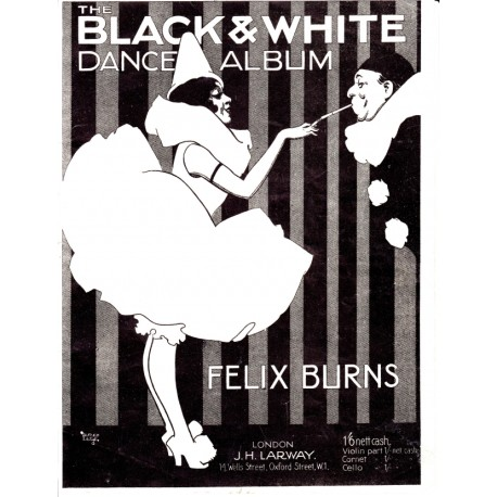 Felix Burns' Black and White Dance Album - Accordion