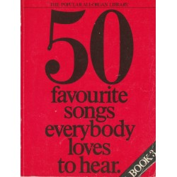 Fifty songs everybody loves to hear - Book 3 for Organ - Kenneth Baker, David Kay