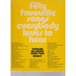 Fifty songs everybody loves to hear - book 9 for Organ - Kenneth Baker, David Kay