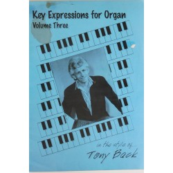 Key Expressions for Organ vol 3 - Tony Back