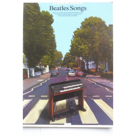 Beatles Songs - for organ - Kenneth Baker
