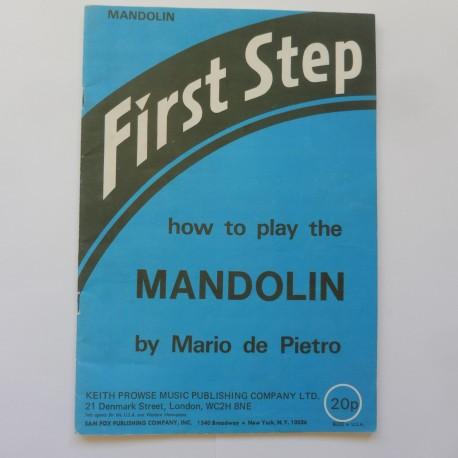 First Step how to play Mandolin - Mario de Pietro
