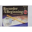 Recorder from the Beginning - John Pitts - Book 1