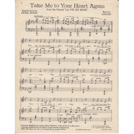 Take me to your heart again/La Vie en Rose