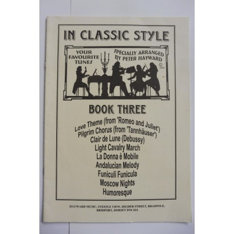In Classic Style - Book 3 - Peter Hayward