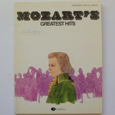 Mozart's Greatest Hits, all organs