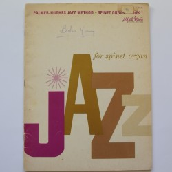 Palmer Hughes Jazz Method Spinet organ book 1