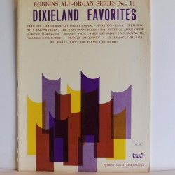Dixieland Favourites Robbins All-organ no. 11