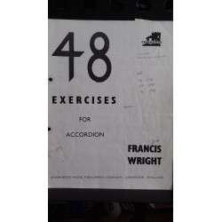 48 exercises for accordion - Francis Wright