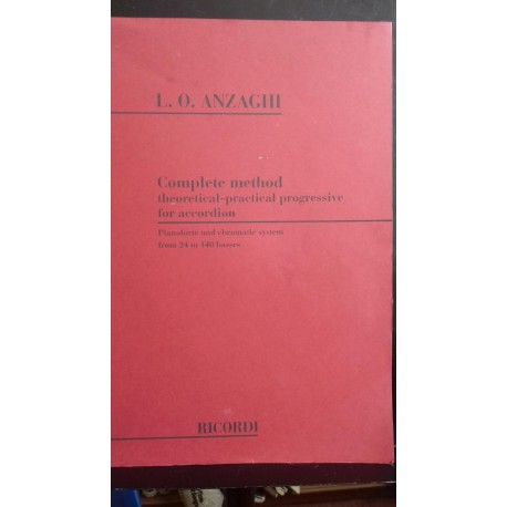 Accordion Complete Method - Anzaghi