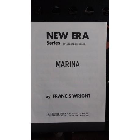 Marina - accordion solo - Francis Wright