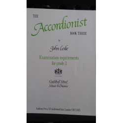 The Accordionist book 3 - John Leslie
