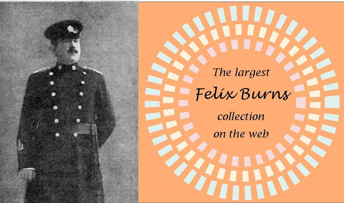 Largest collection of Felix Burns